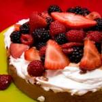 Balsamic Berry Strawberry Shortcake for Passover