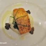 Salmon with Champagne Beurre Blanc