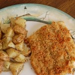 Oven-Fried Fish Fillets