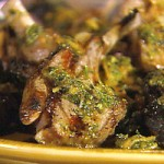 Baby Lamb Chops with Rosemary Garlic