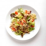 Quinoa Salad with Carrots and Sweet Cider