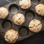 Blueberry or Peach Muffins