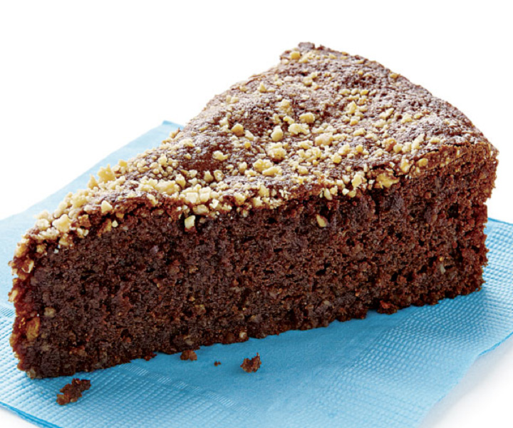 choc-almond-torte