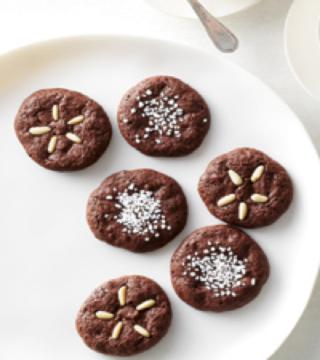 choc-amaretti-cookies