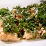 Salmon with Green Herbs and Lemon
