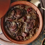 Lamb Tagine with Onions and Tomatoes