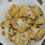 Roasted Cauliflower with Lemon-Caper Dressing