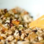 Whole Wheat Fruit and Nut Granola