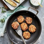 Chicken Kofte with Zucchini – Moroccan Chicken Patties