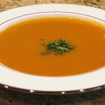 Spiced Butternut Squash (Pumpkin) Soup
