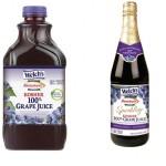 Welch's and Manischewitz Grape Juice